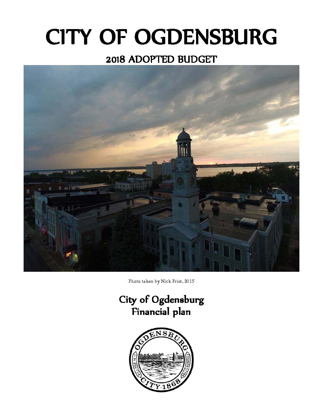 2018 Adopted Budget