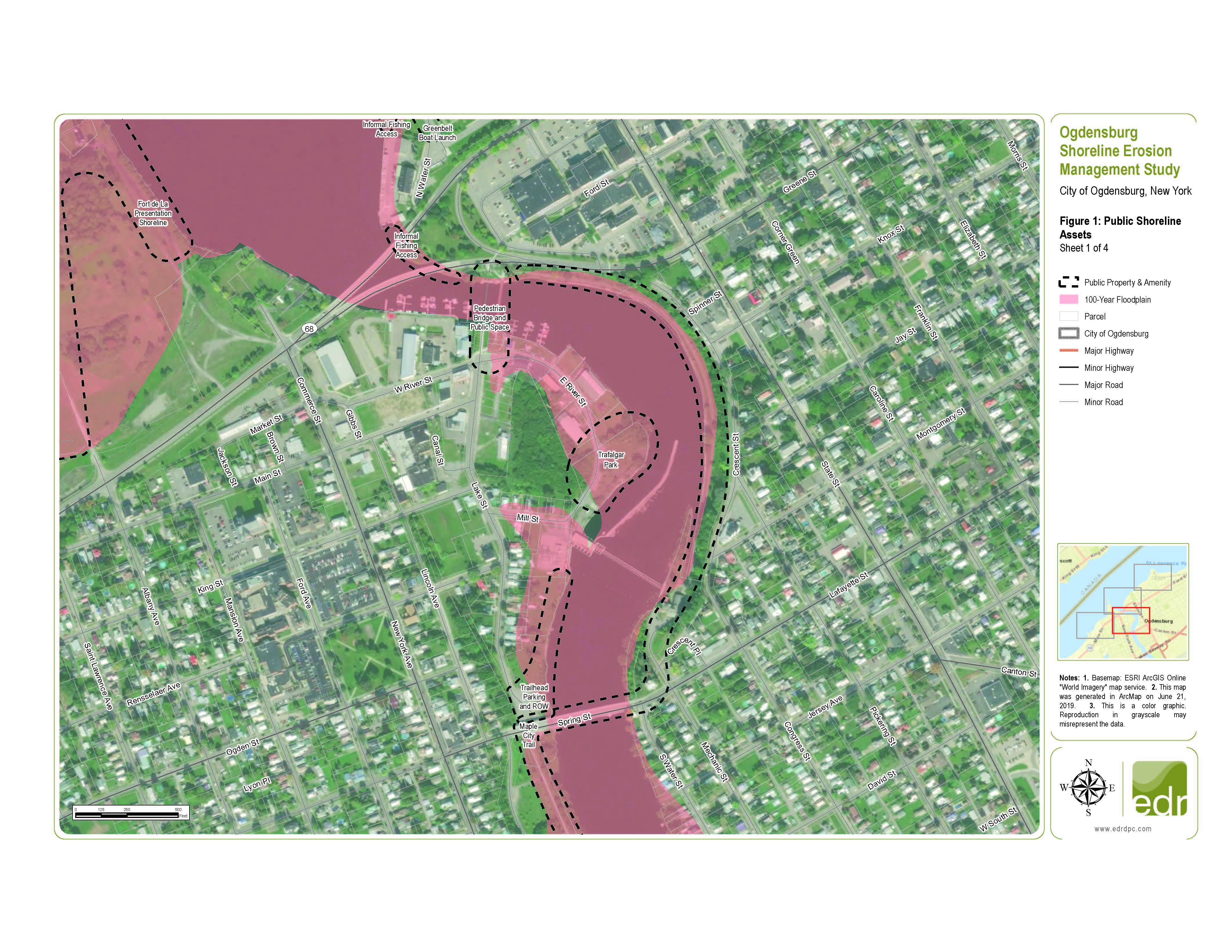 Shoreline Resiliency Map